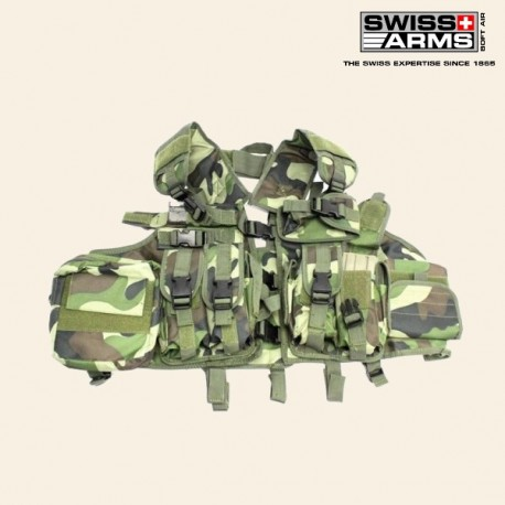Gilet Tactique CQB Camo Swiss Arms