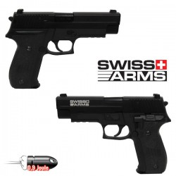 Pistolet Navy Swiss Arms Full Métal Blowback