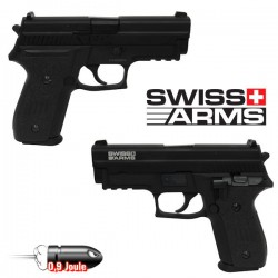 Pistolet  Navy 40 Swiss Arms Full Métal Blowback