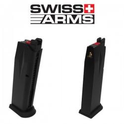 Chargeur Métal pour Pistolet Navy Swiss Arms GBB