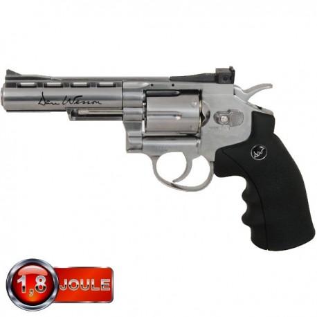 Revolver modèle Dan Wesson 4 pouces chromé