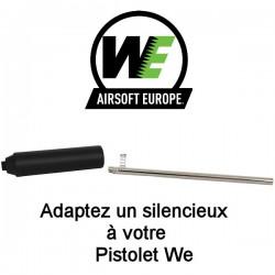 kit Silencieux et canon interne WE Standard pour tous Pistolets WE