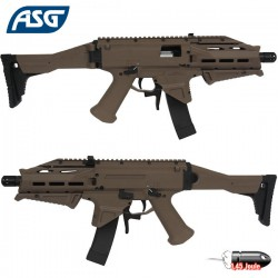 CZ Scorpion EVO 3- A1 ATEK Proline FDE DT Tan