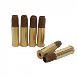 6 Douilles Métal 6mm pour Revolvers Chiappa Rhino