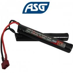 Batterie 9,6v 1600 mAh T-Plug /Dean ASG pour Crosse Crâne