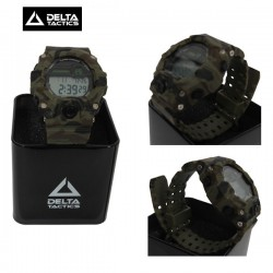 Montre Tactique Digitale Multi-Fonctions Camo OD DeltaTactics