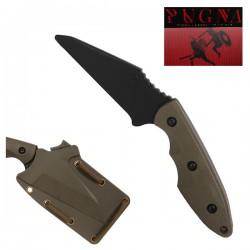 Couteau Factice avec Etui Pugna Secutor Tan et Noir