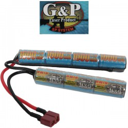 Batterie Dean Intellect G&P NiMh Butterfly 9,6v 1600maH Double Eléments