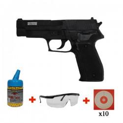 Pack Initiation Pistolet P226 Navy Swiss Arms Culasse Métal