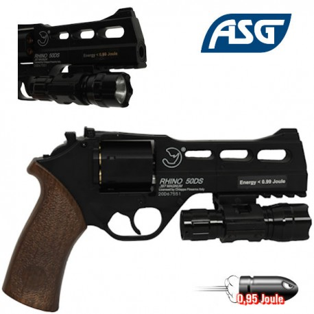 Revolver G293A Full Métal Noir Well