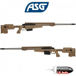 AI MK13 MOD 7 Long US Marine Corps Sniper Rifle 300 Win Mag Tan ASG