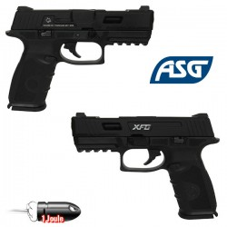 Pistolet XFG Blowback ICS Noir