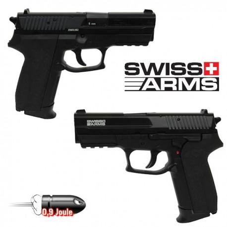 Pistolet Swiss Arms MLE Culasse Métal