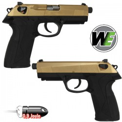 Bulldog WE Gold Compact Culasse Métal Blowback