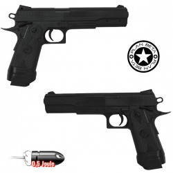 Pistolet Heavy Metal Hi-Capa Silver Plan Beta