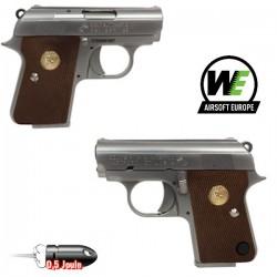 Colt Pocket Black Blowback Full Métal WE