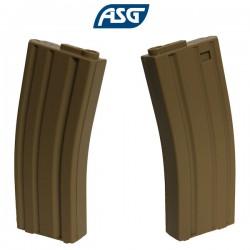 Chargeur Low Cap Armalite Tan 85 Billes ASG pour M4, M15, M16, GR15, CM16