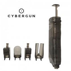Chargette Rapide Fumé 90 billes Cybergun