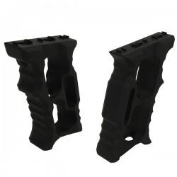 Grip Aluminium Noir pour M-Lock et KeyMod avec Visserie