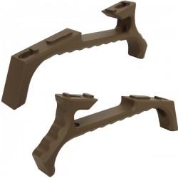 Grip Tactical Angled VP23 Tan pour M-Lock et KeyMod avec Visserie