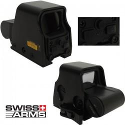Dot Sight Raptor Swiss Arms Rouge/Vert QD Picatinny