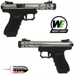 Pistolet Galaxy G-Séries Blowback Culasse Métal Blue WE
