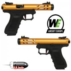 Pistolet Galaxy G-Séries Blowback Culasse Métal Silver WE
