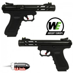 Pistolet Galaxy G-Séries Blowback Culasse Métal Gold WE