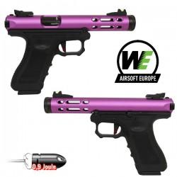 Pistolet Galaxy G-Séries Blowback Culasse Métal Black WE