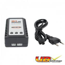 Chargeur Rapide Auto Stop VB Power Pour Batteries LiPo 7,4v et 11,1v