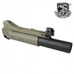 Lance Grenade 40mm Métal Type M203 L Tan S&T