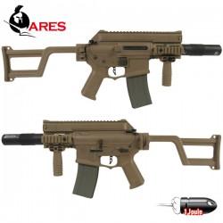 Réplique AM05 Tan Ares Equipé Silencieux