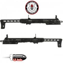 Kit de Conversion Carbine SMC 9 Noir pour GTP9 G&G