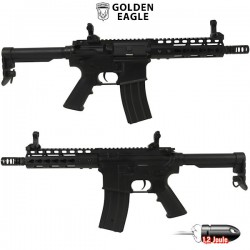 "F6637 Elite Séries 7"" Keymod CQB Rifle Black"