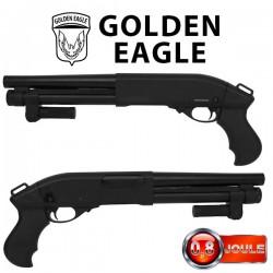 Fusil à Pompe M8876 Métal Noir Golden Eagle