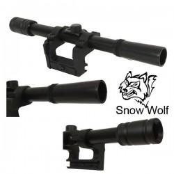 Lunette de Tir pour 98K Snow Wolf