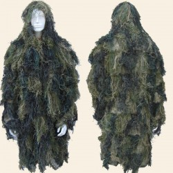 Parka Ghillie Digital Woodland
