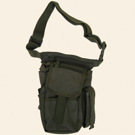 Sac de Cuisse Multi Pack Olive 6 Poches